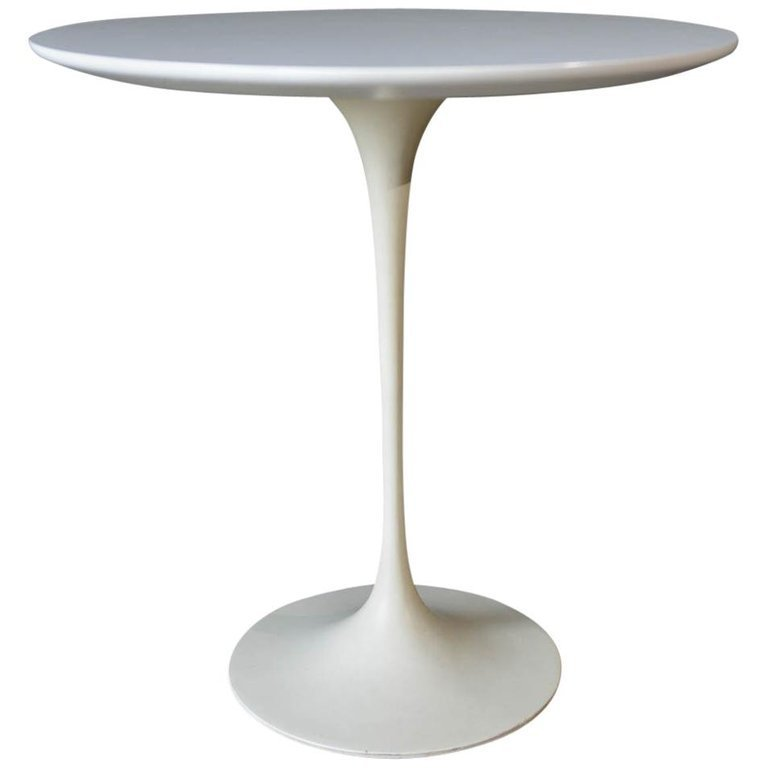 Early Eero Saarinen Tulip Side Table For Knoll Ca 1960 The Modern Vault Newport Beach