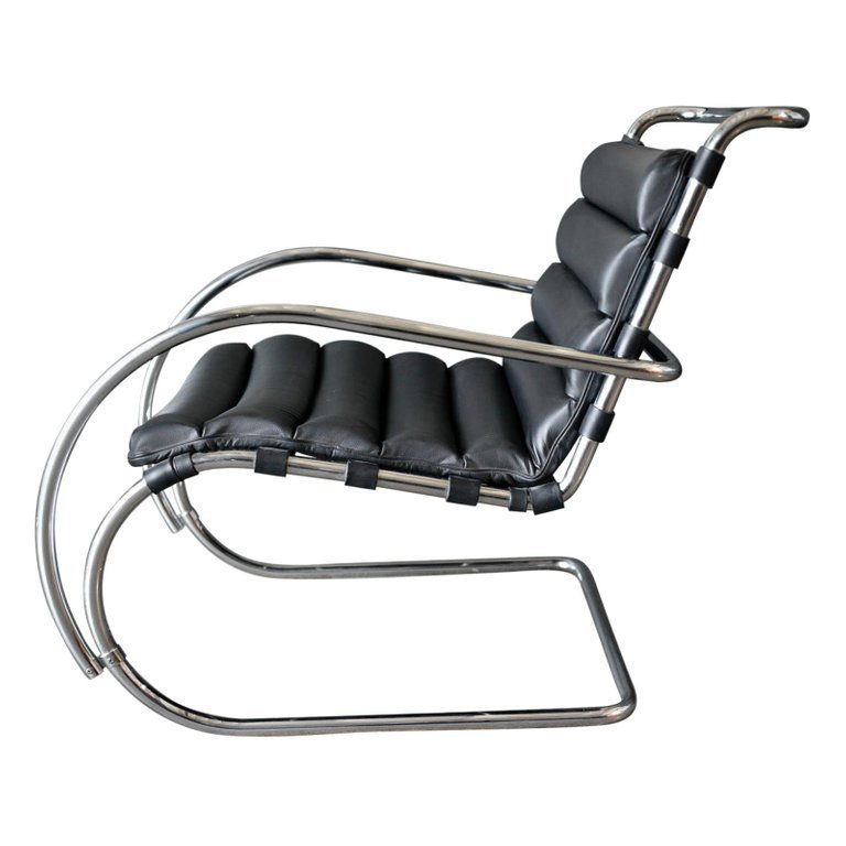 Magnificent Mr Lounge Chair By Ludwig Mies Van Der Rohe For Knoll Onthecornerstone Fun Painted Chair Ideas Images Onthecornerstoneorg