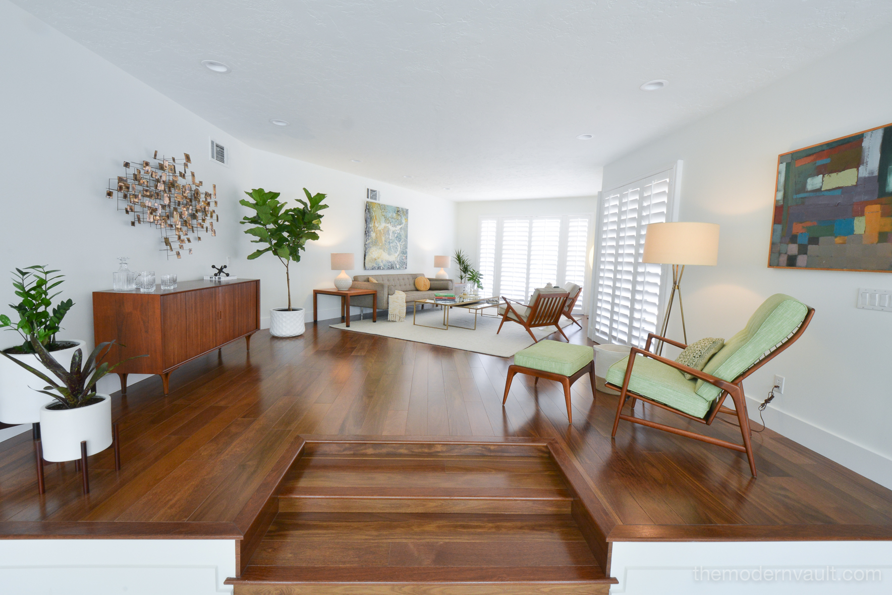 Mid Century Modern Home Remodel And Restoration The Modern