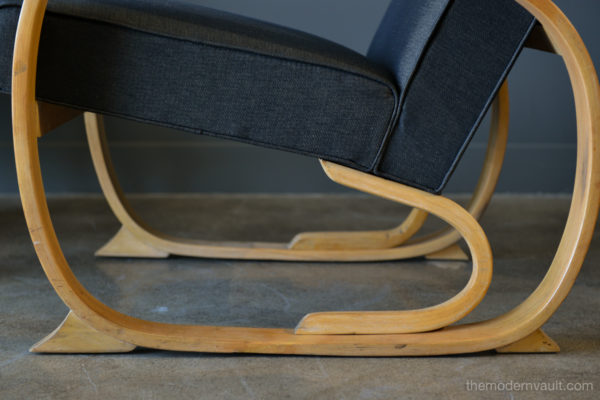 Pleasing Pair Of 1940S Art Deco Bentwood Club Or Lounge Chairs Gmtry Best Dining Table And Chair Ideas Images Gmtryco